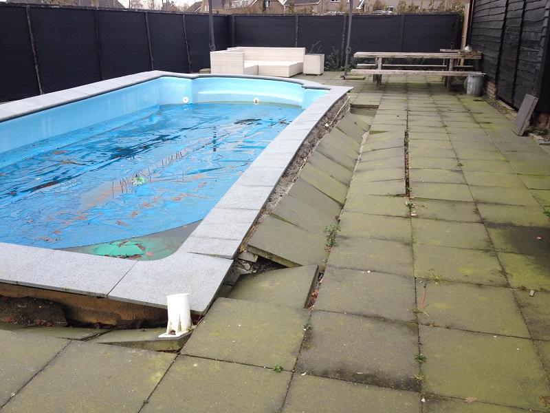 Renovatie for Renovatie zwembad
