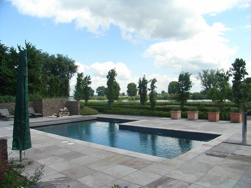 Prijzen voor het aanleggen van uw zwembad - Zwarte voering voor zwembad ...