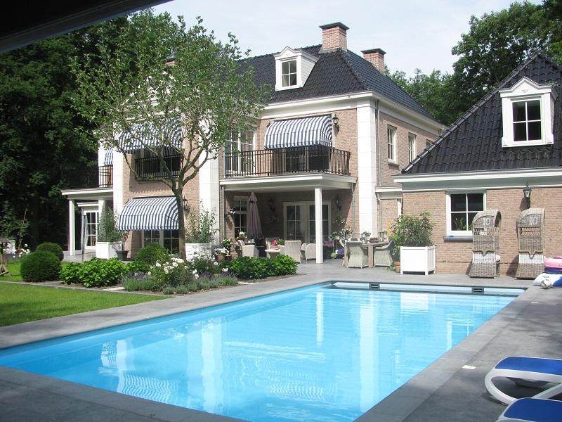 Prijzen voor het aanleggen van uw zwembad for Afmetingen zwembad tuin